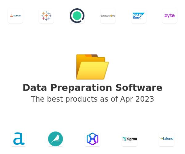Data Preparation Software