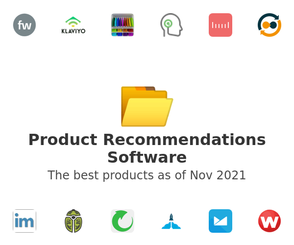Product Recommendations Software