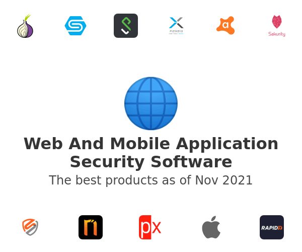Web And Mobile Application Security Software