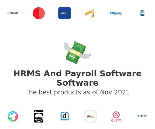 Hrms And Payroll Software Software