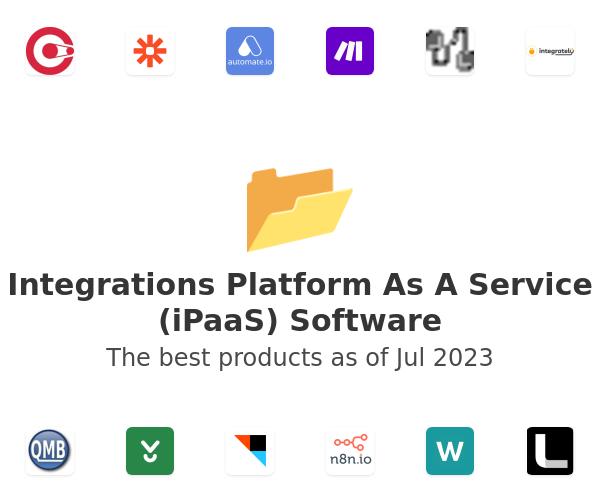 Integrations Platform As A Service (iPaaS) Software