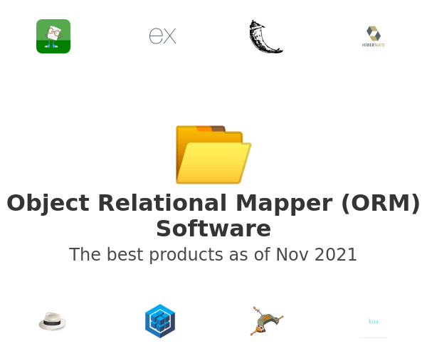 Object Relational Mapper (ORM) Software