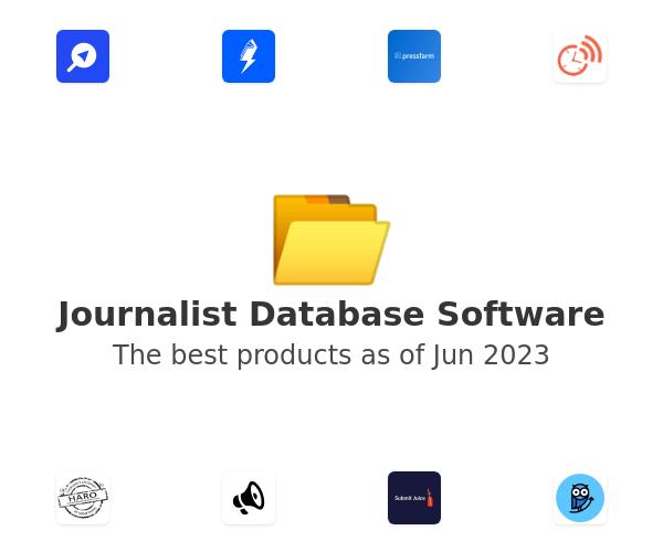 Journalist Database Software