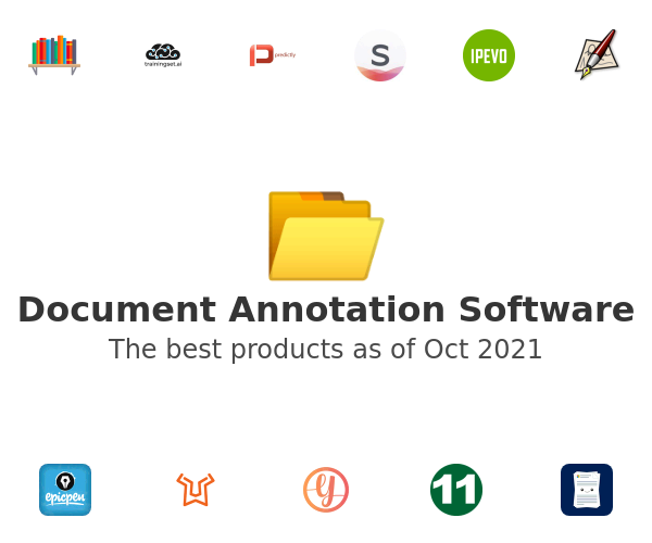 Document Annotation Software
