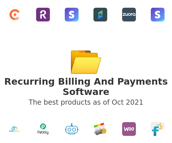 Recurring Billing And Payments Software