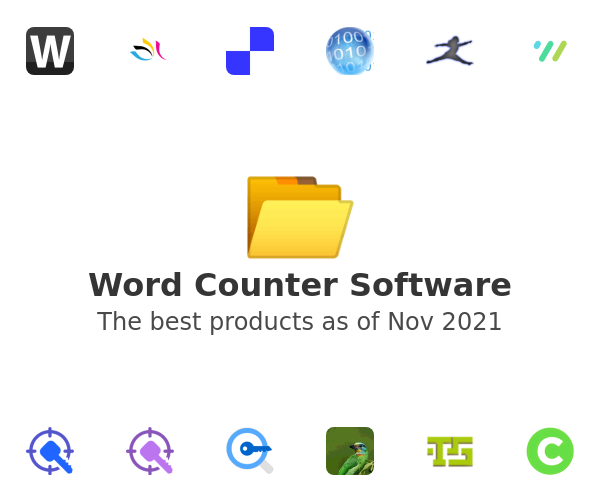 Word Counter Software