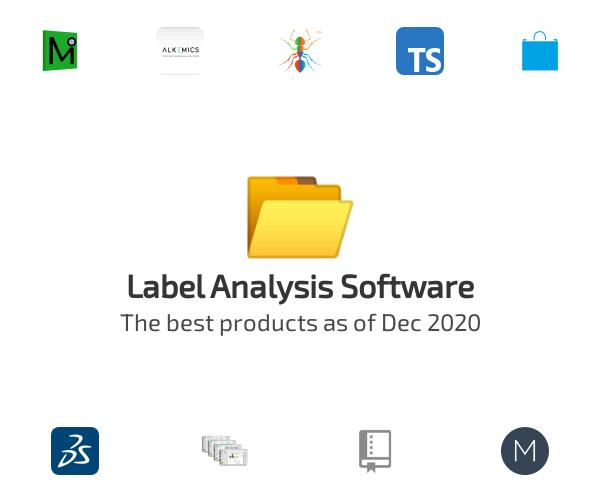 Label Analysis Software