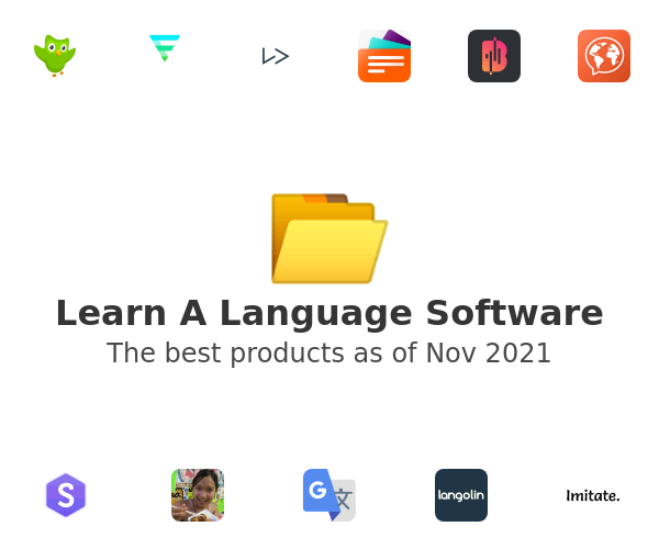 Learn A Language Software