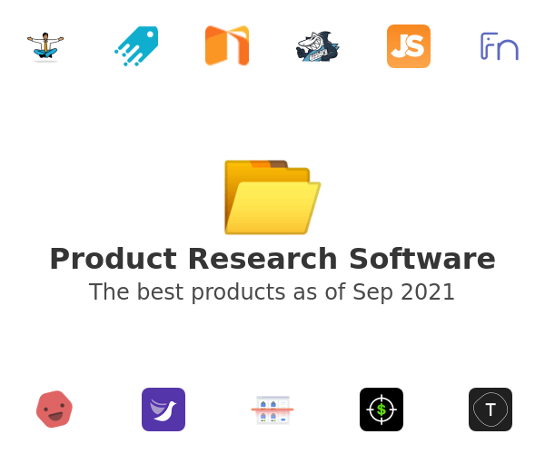 Product Research Software