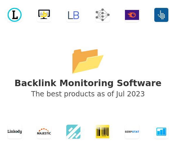 Backlink Monitoring Software