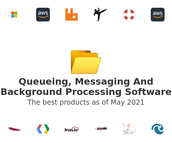 Queueing, Messaging And Background Processing Software