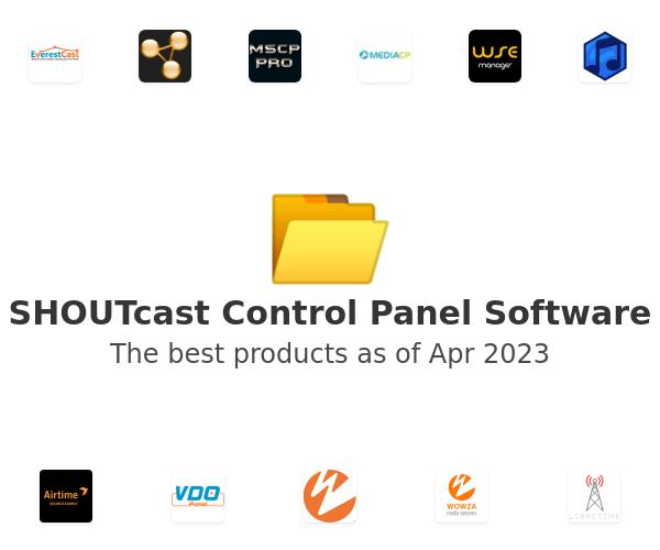 SHOUTcast Control Panel Software