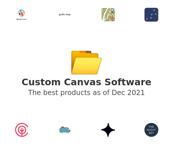 Custom Canvas Software