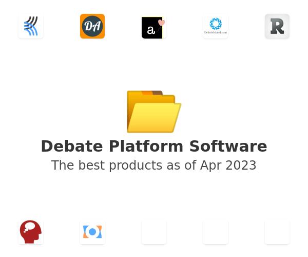 Debate Platform Software