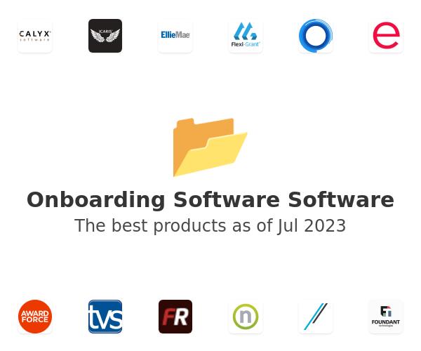 Onboarding Software Software