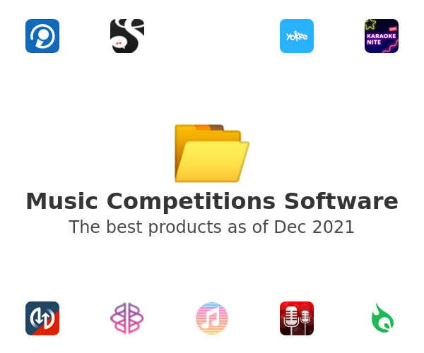 Music Competitions Software