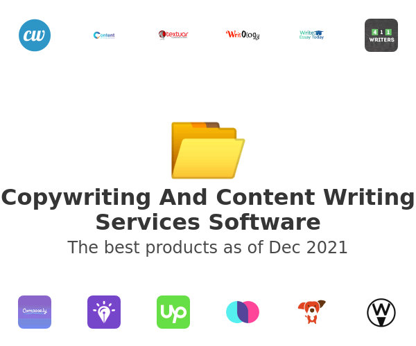 Copywriting And Content Writing Services Software