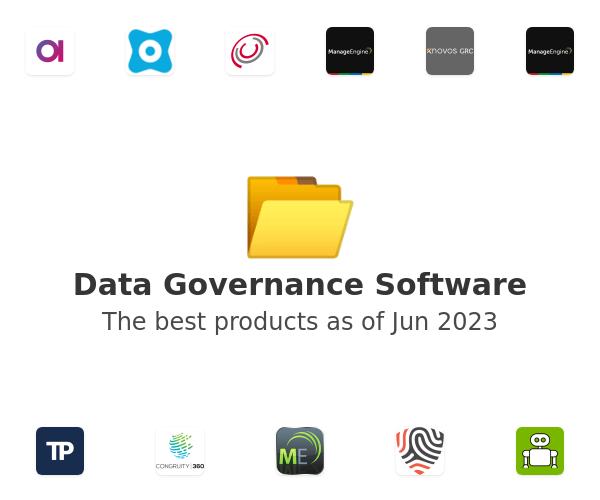 Data Governance Software