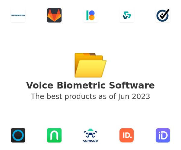 Voice Biometric Software