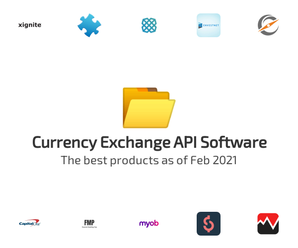 Currency Exchange API Software