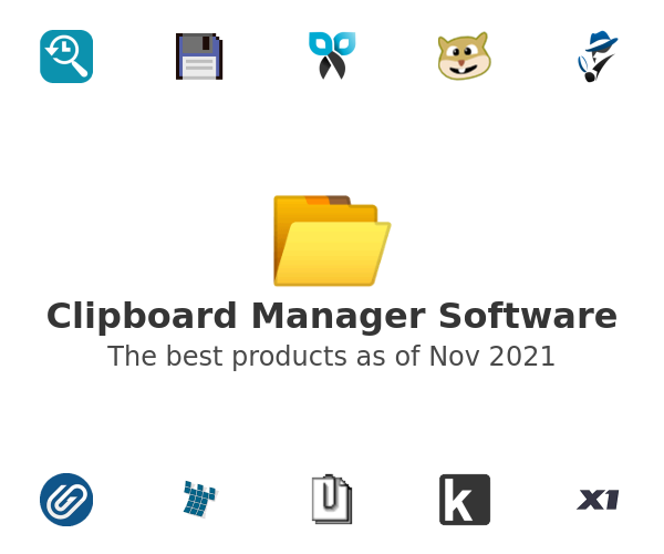 Clipboard Manager Software