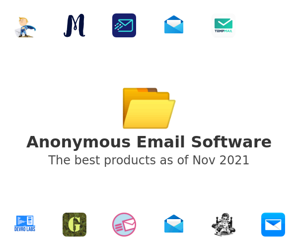 Anonymous Email Software