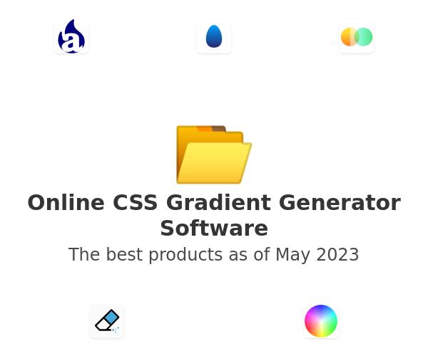 Online CSS Gradient Generator Software