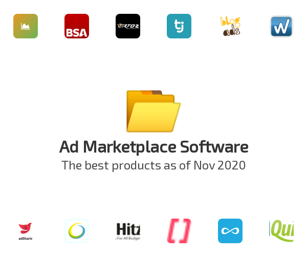 Ad Marketplace Software
