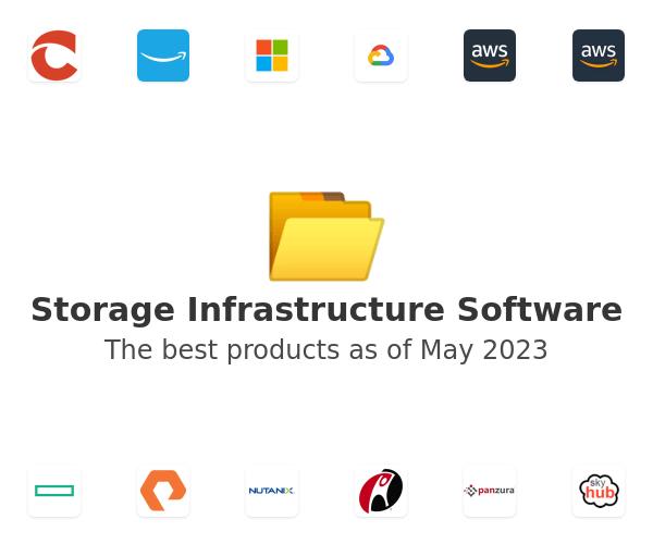Storage Infrastructure Software