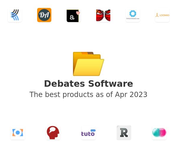 Debates Software