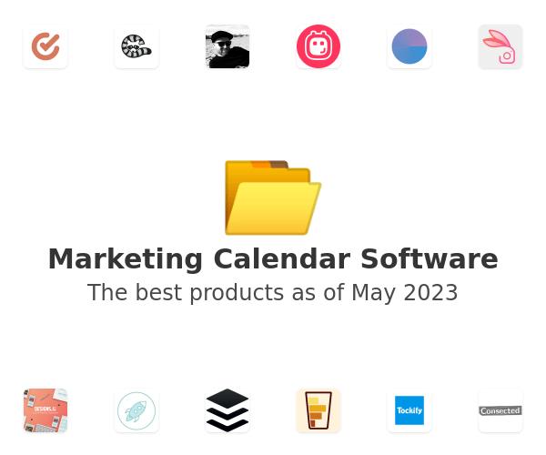 Marketing Calendar Software