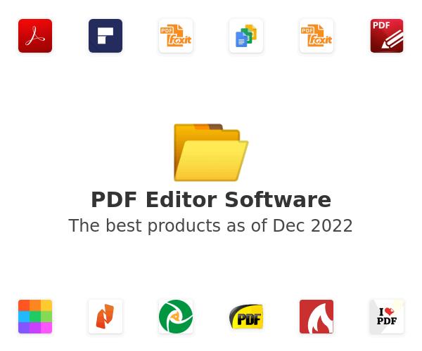 PDF Editor Software