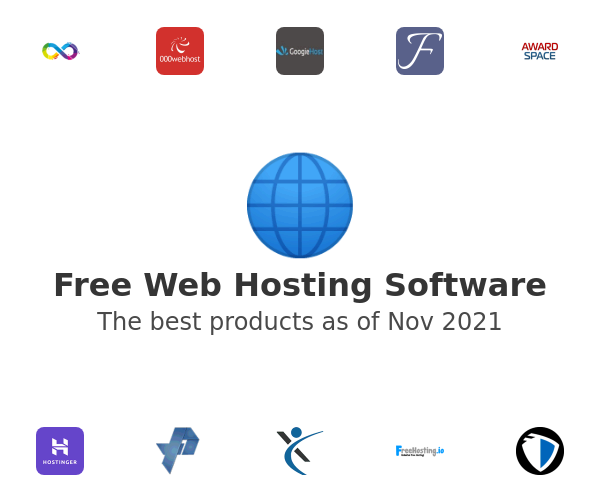 Free Web Hosting Software