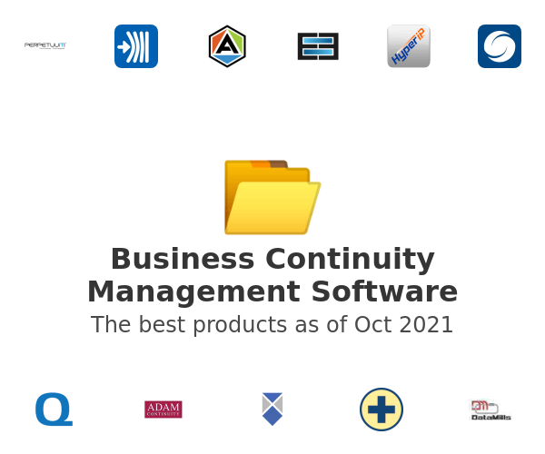 Business Continuity Management Software