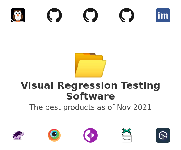 Visual Regression Testing Software