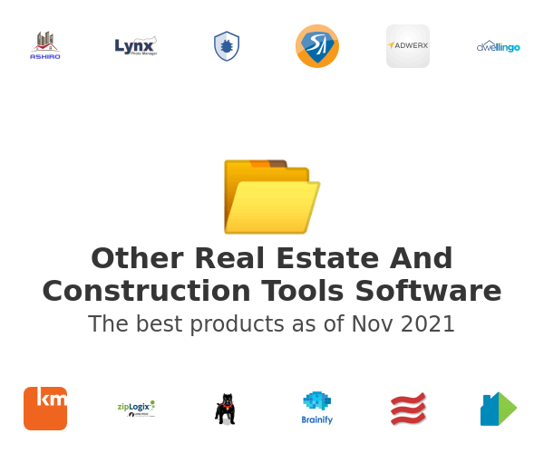 Other Real Estate And Construction Tools Software