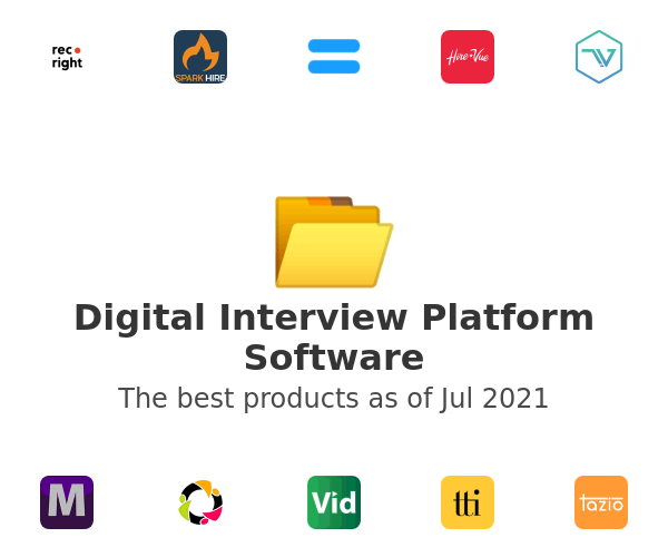 Digital Interview Platform Software