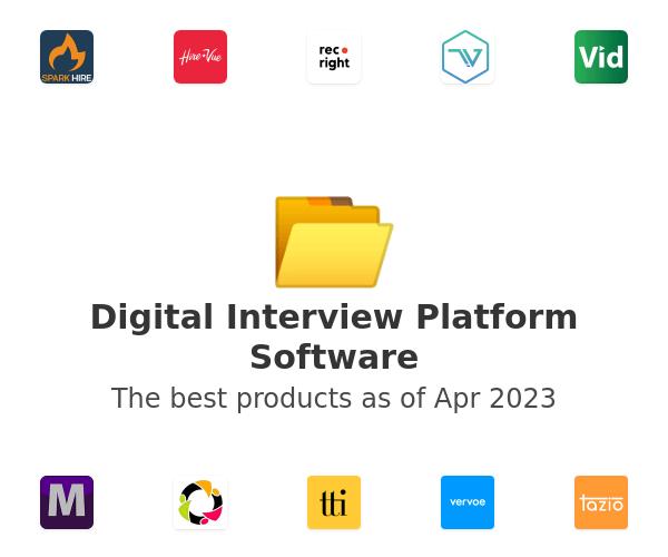 Digital Interview Platform Software