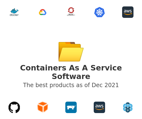 Containers As A Service Software