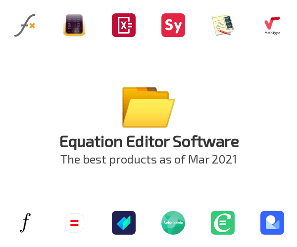 Equation Editor Software