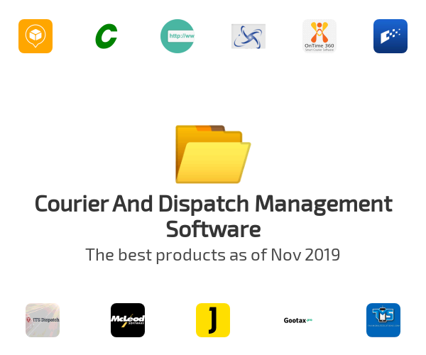 Courier And Dispatch Management Software