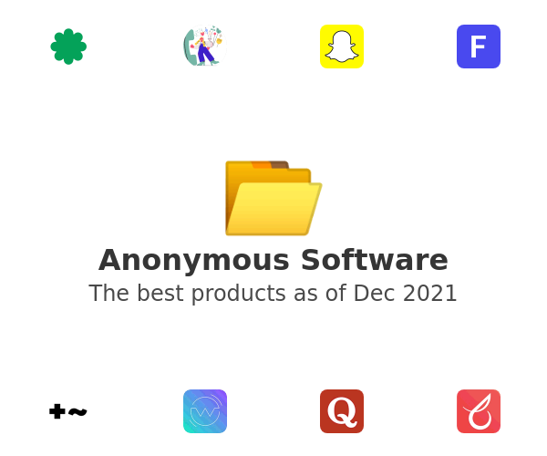 Anonymous Software