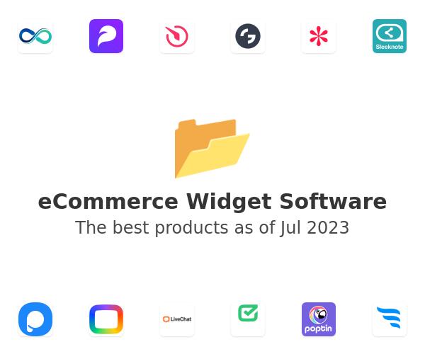 eCommerce Widget Software