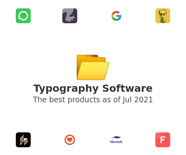 Typography Software