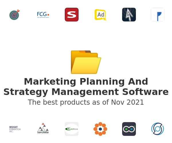 Marketing Planning And Strategy Management Software