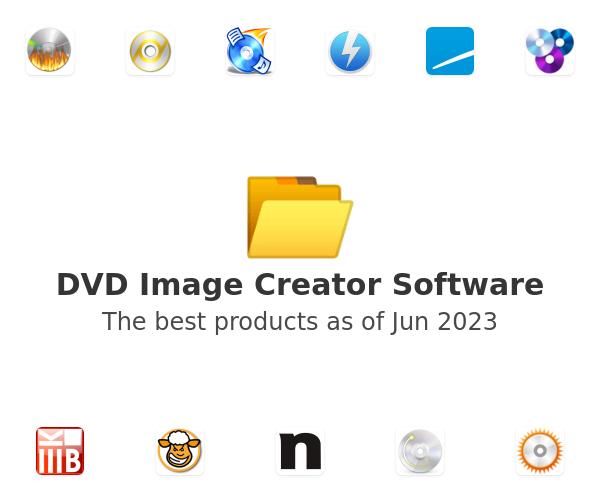 DVD Image Creator Software