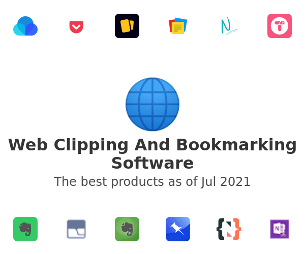 Web Clipping And Bookmarking Software