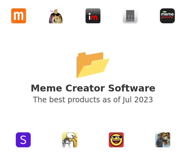Meme Creator Software