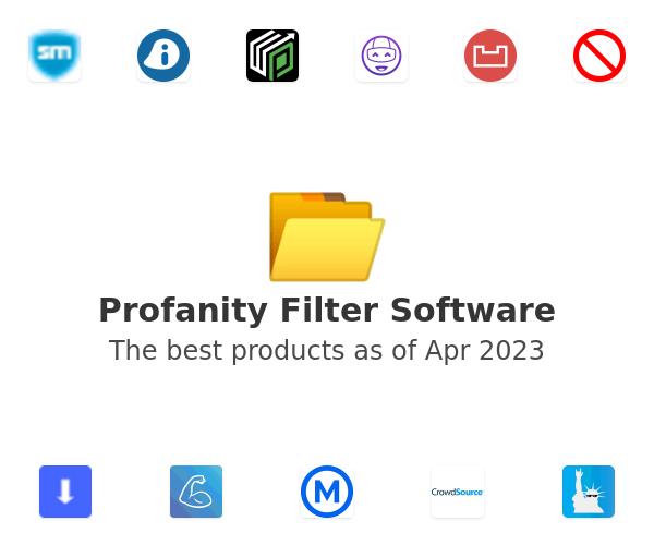 Profanity Filter Software
