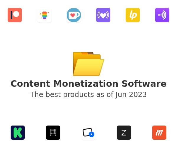 Content Monetization Software